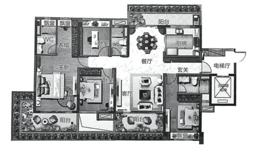 35平方房子设计图