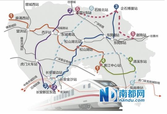 广东地铁风景图